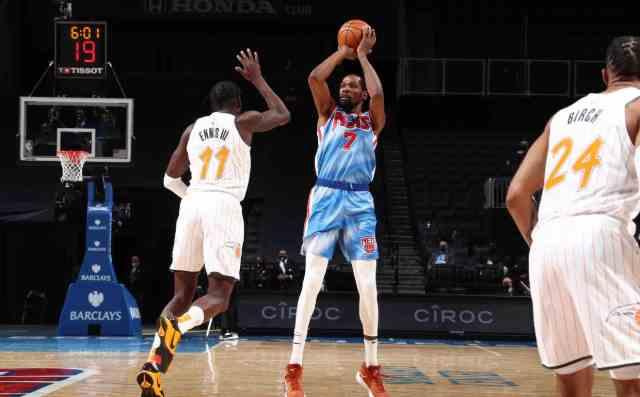 NBA周最佳球员出炉!杜兰特成功当选,获奖次数高居历史第三!
