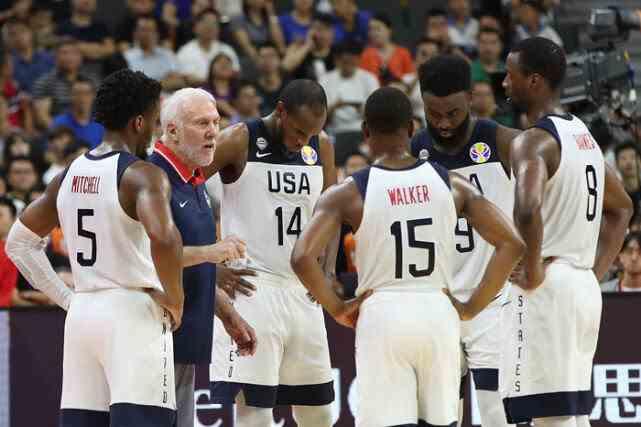 美国男篮邀请大约60人参加奥运会 总决赛球员可能拒绝出战