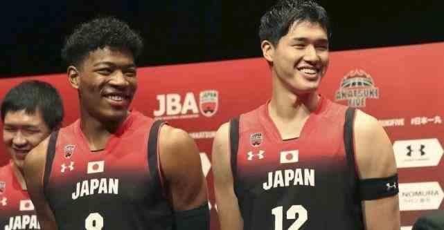 双星闪耀,日本篮球黄金一代!中国男篮还能打过日本吗?