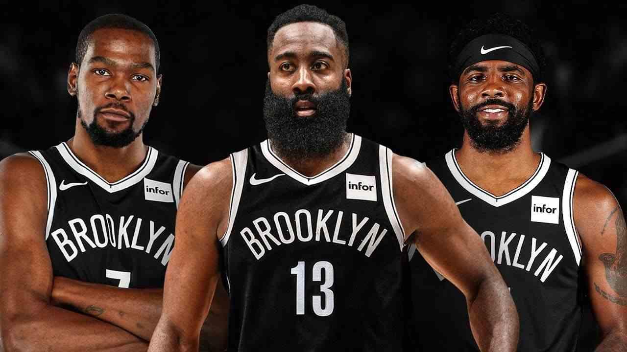 哈登杜兰特稳了!NBA的三巨头历史,篮网的四个前任全部总冠军夺冠