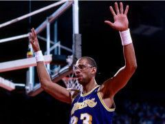 NBA联盟,湖人队史最大牌球星是谁?韦斯特垫底 詹皇未进前3