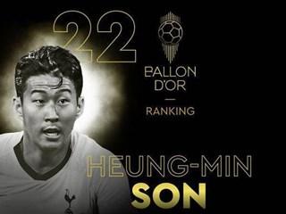 孙兴慜以57%的选票被票选为本赛季热刺最佳球员