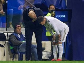 皇马官方确认阿扎尔腓骨骨折,西媒担忧其将缺席欧洲杯