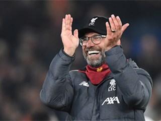 利物浦英超18连胜追平曼城纪录,再赢4轮即夺冠