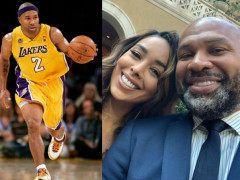 快50岁费舍尔又秀恩爱,娶NBA队友前妻!胡子都白了,让人唏嘘