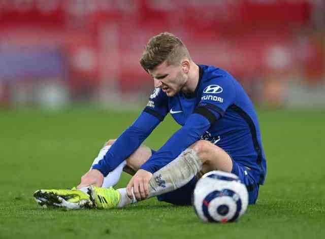 维尔纳或遭双重打击,蓝军锋线计划已无他,为欧洲红魔双锋让路