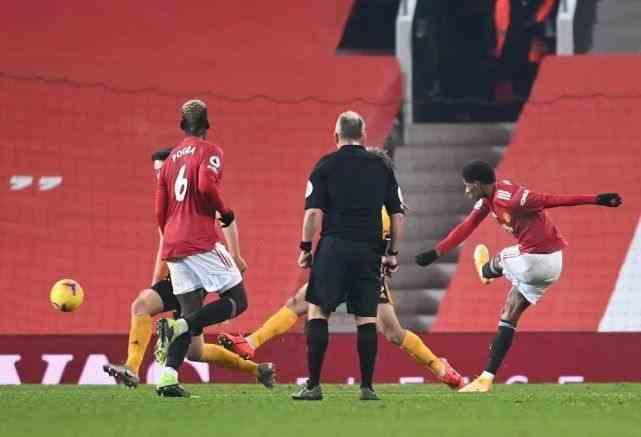 曼联1-0狼队升至英超第二!拉什福德绝杀破纪录,曼联已有争冠特质