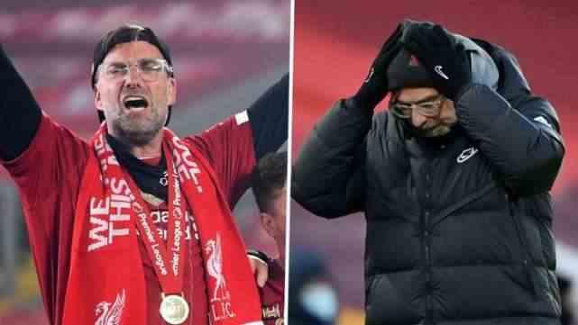 7场4败+差13分,利物浦冠军瓦解:渣叔冲前4,欧冠和英超难了