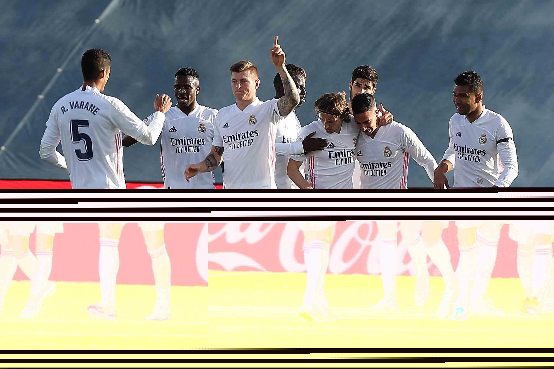 西甲综合 皇马2:0胜巴伦西亚