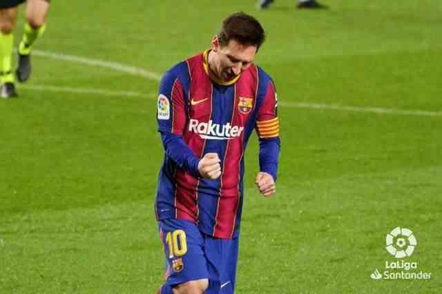 太难了!梅西打入制胜球+单场创造15次威胁 巴萨1-0莱万特