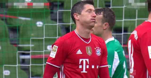 欧洲金靴最新排行 莱万里程碑超C罗12球 德甲4人前十本泽马差1球