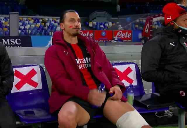 官方:伊布左大腿腿筋受伤 记者:可能伤缺3-4周