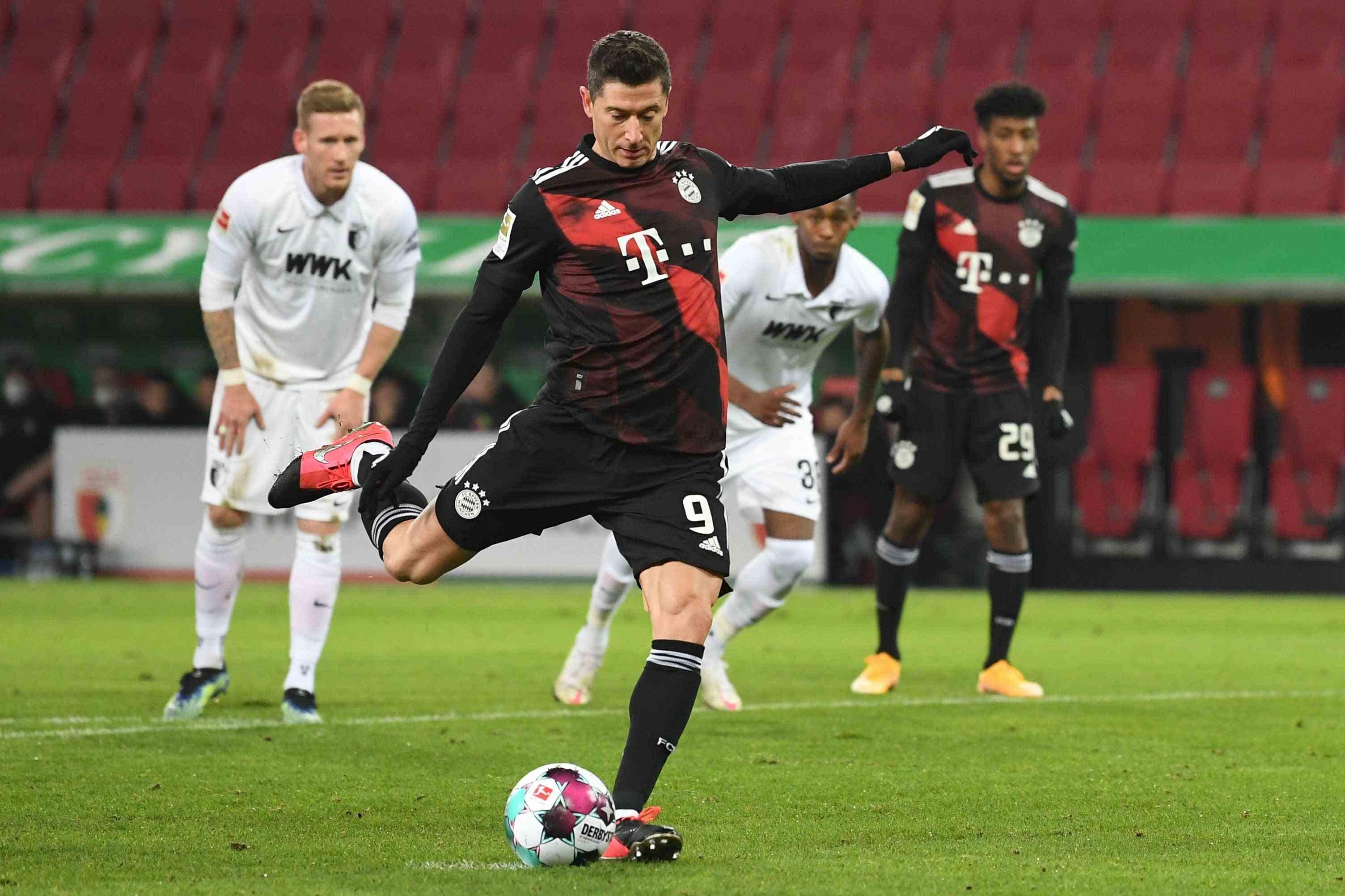 德甲 德甲半程结束 拜仁、莱比锡分列积分榜前两位