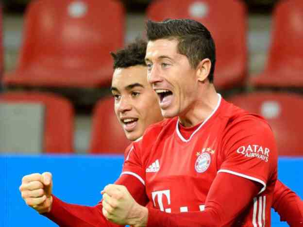 没有奇迹!拜仁2-3又被克星吊打,莱万创2大纪录,甩C罗6球