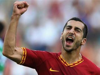 罗马体育报:姆希塔良已经与阿森纳解约,他将加盟罗马!