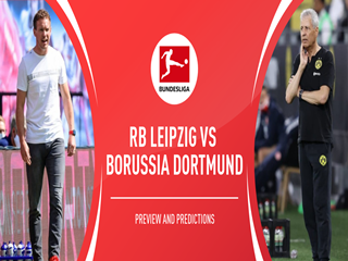 德甲前瞻:RB莱比锡VS多特蒙德,心态放松对攻走起!