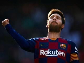 足坛第一人!梅西生涯进球助攻总数破千