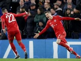 莱万和格纳布里两人本赛季已经合计攻入57球为欧洲进球最多二人组