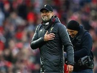 利物浦离英超夺冠仅差5场,提前12轮锁定欧冠资格