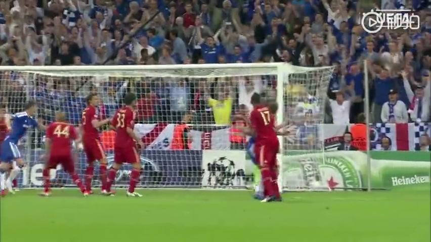 9年前的今天:切尔西欧冠决赛击败拜仁,夺队史首座欧冠