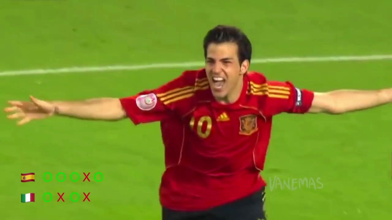 终成正果!回顾08年欧洲杯西班牙夺冠之路