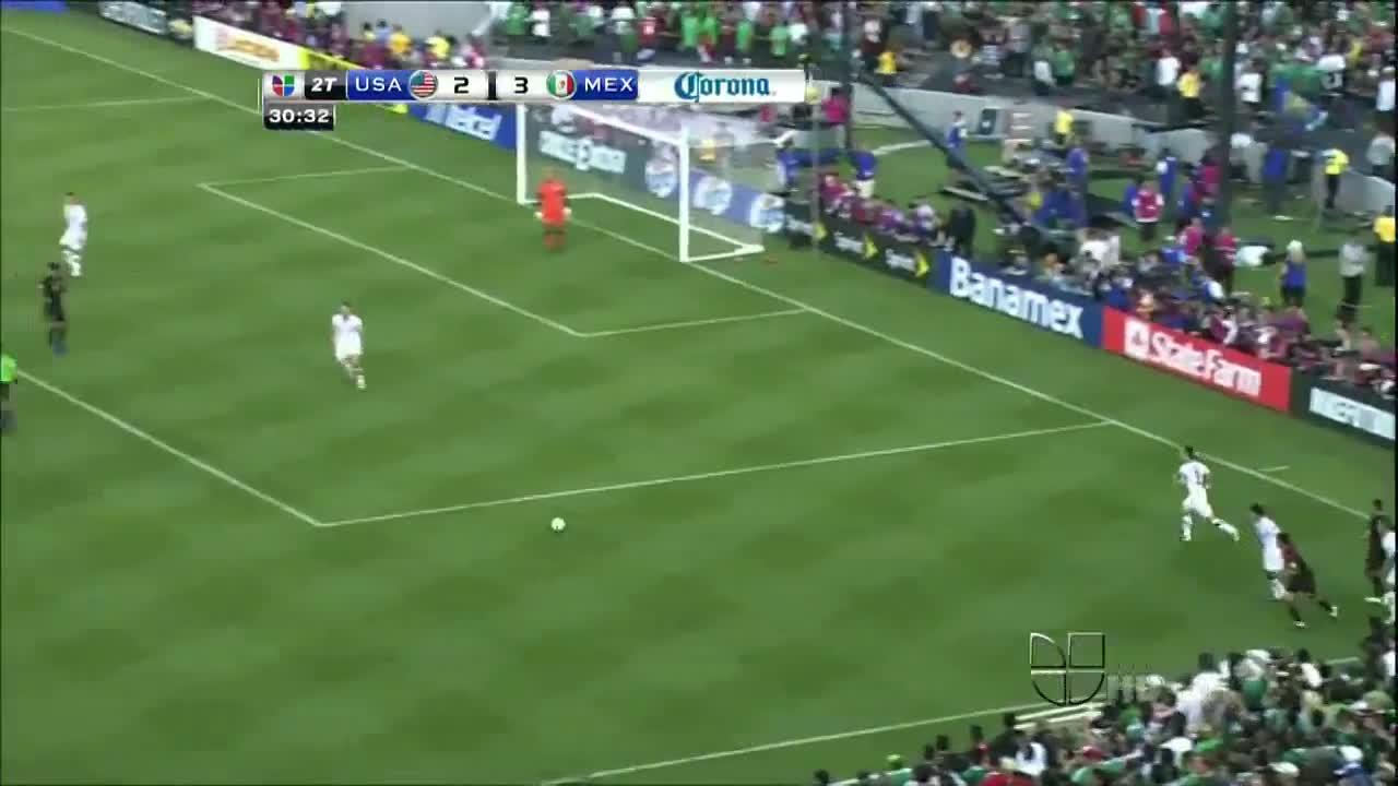 10年前的今天-多斯桑托斯在金杯决赛中打进史诗级进球