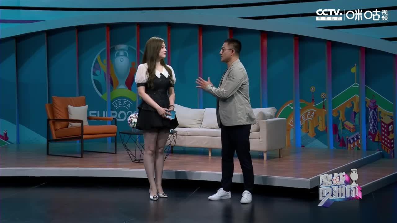 真球迷!美女主持人刘畅:没比赛看很空虚 欧洲杯看一场少一次