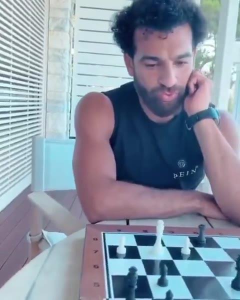 萨拉赫国际象棋水平如何?