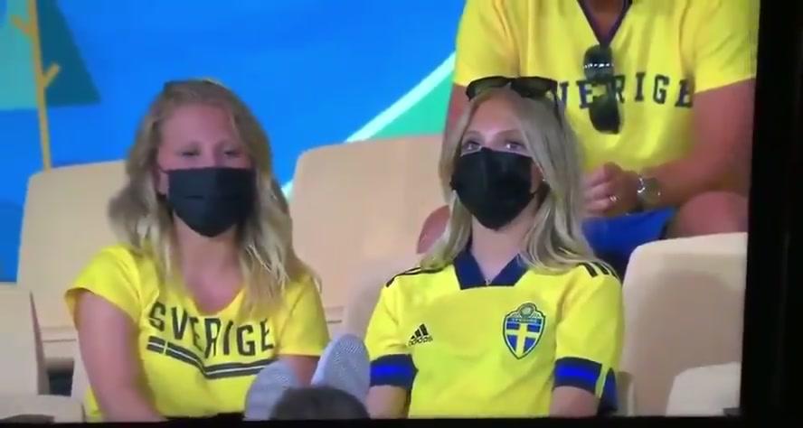 金发碧眼!这届欧洲杯瑞典女球迷大出风头