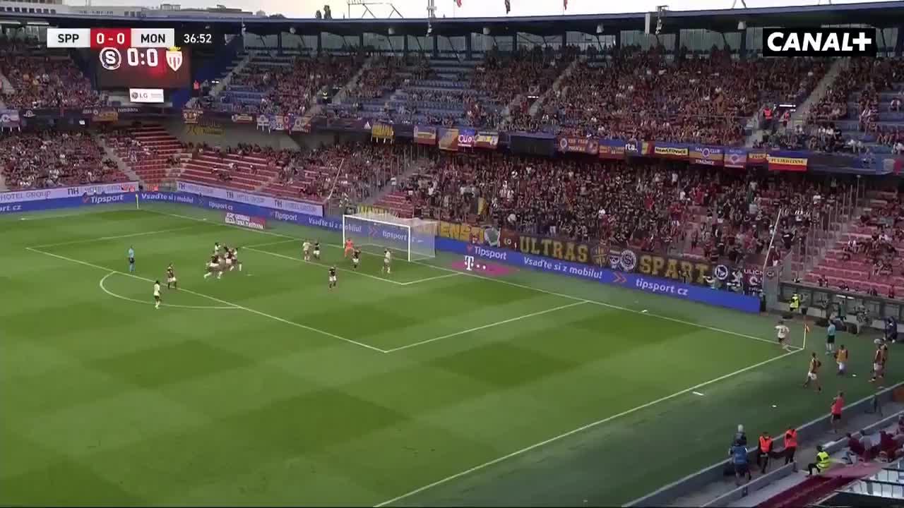 【集锦】欧冠资格赛-沃兰德破门建功 摩纳哥2-0布拉格斯巴达